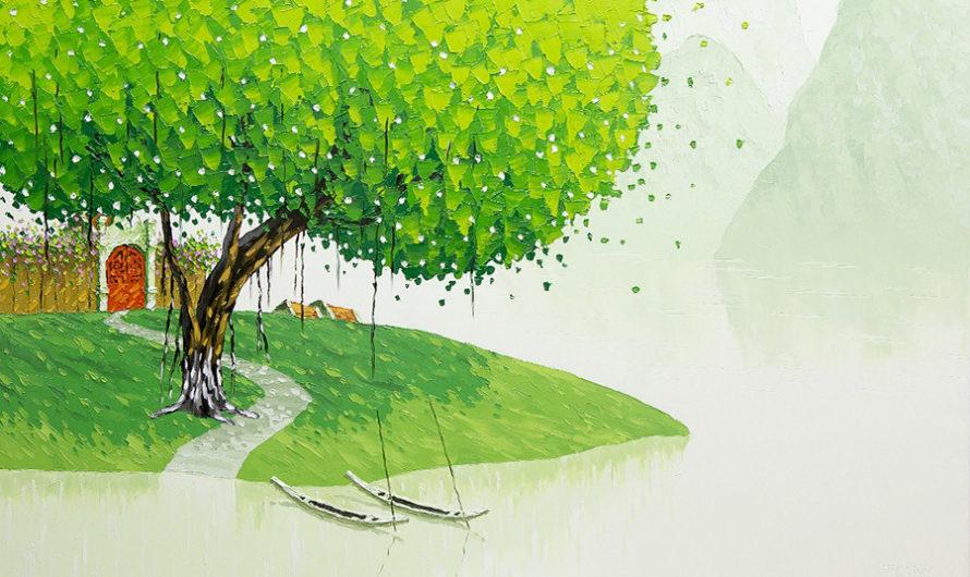 Вьетнам : Пейзажи художницы Phan Thu Trang