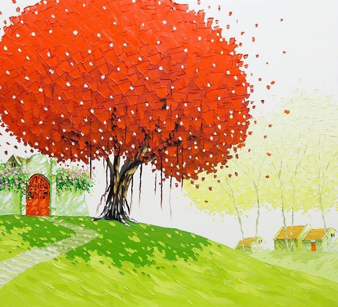 Вьетнамские пейзажи художницы Phan Thu Trang