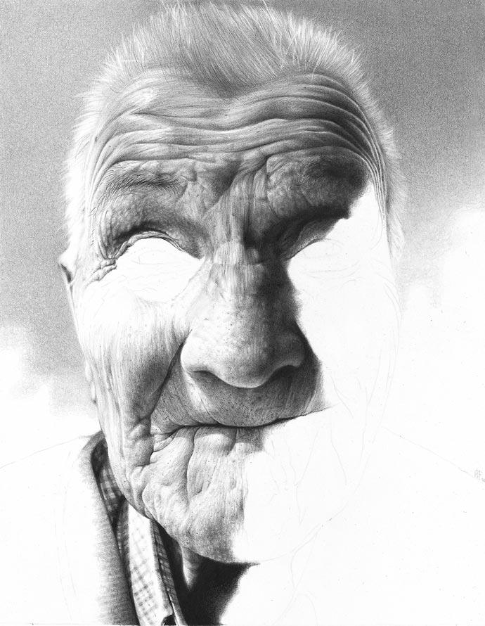 Гиперреалистические портреты Антонио Финелли