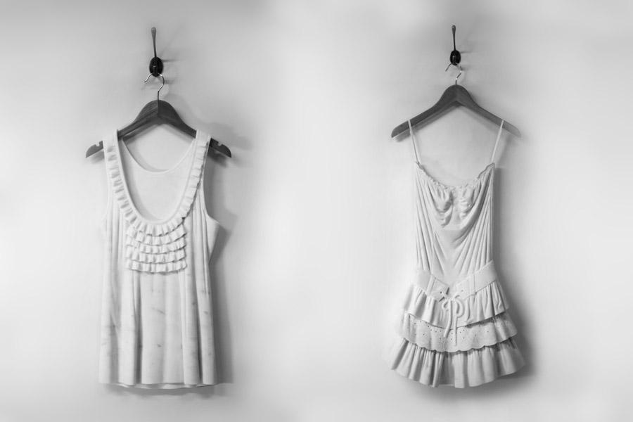 «The Identity Collection» : Платья Alasdair Thomson, высеченные из мрамора