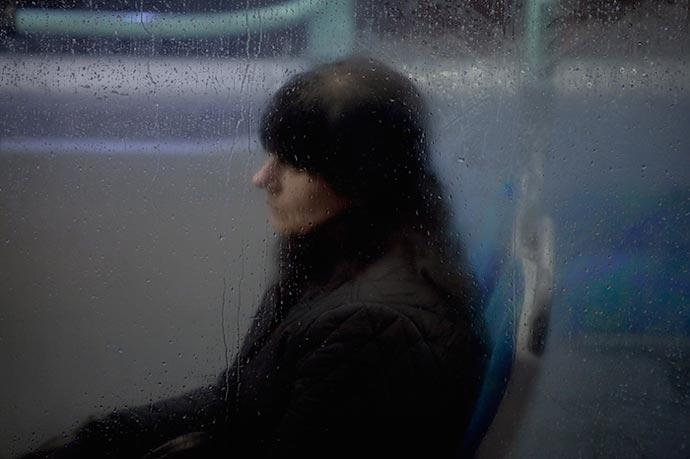 Пассажиры холодной поры. Фотографии Nick Turpin