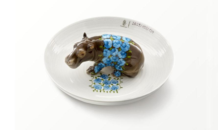 Приятного аппетита : Фарфоровые тарелки с животными Hella Jongerius