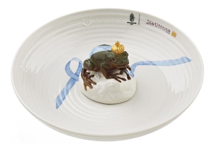 Фарфоровые тарелки с животными Hella Jongerius из коллекции Nymphenburg