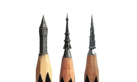 Резьба по карандашному грифелю Salavat Fidai