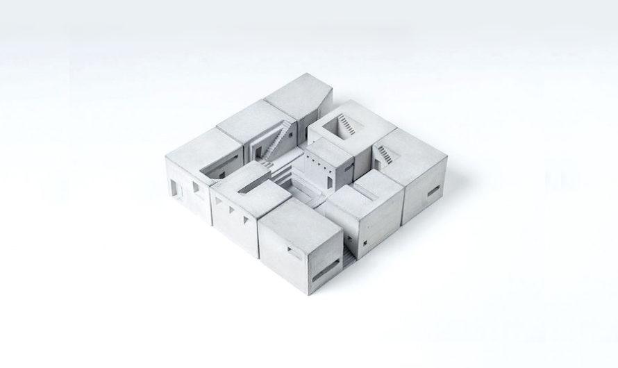 Ода бетону :  Кубики Material Immaterial