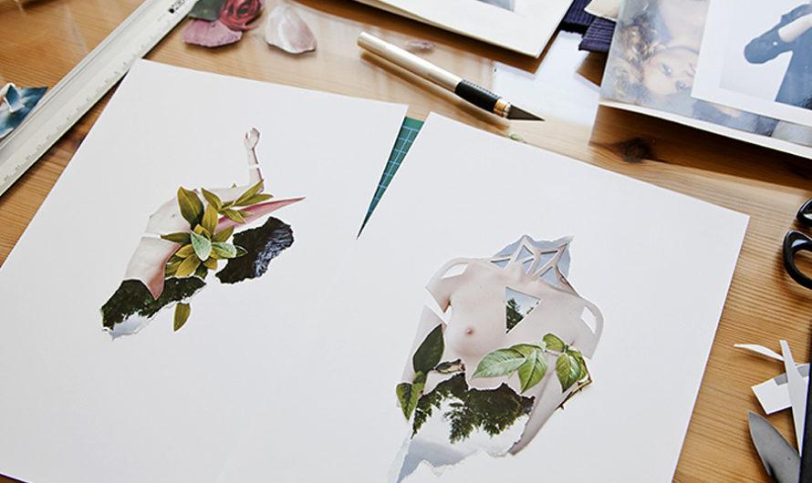 Прикладная ботаника : Коллажи Rocio Montoya