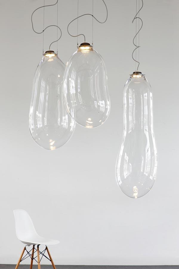 Лампы-пузыри «The Big Bubble» дизайнера Alex de Witte