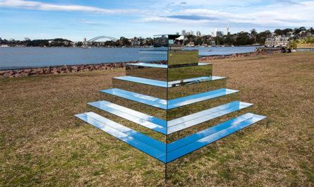 Зеркальный зиккурат Shirin Abedinirad в Сиднее