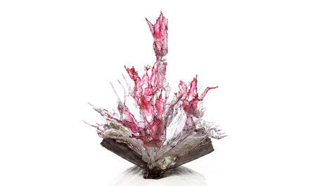 Брызги стекла в необычных работах итальянского художника Annaluigia Boeretto