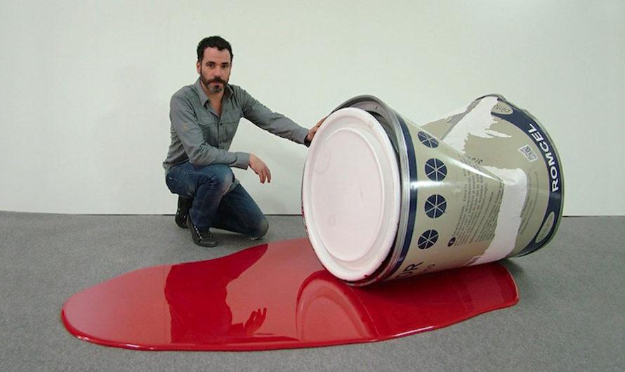 Негабарит : Макро-серия бытовых объектов художника Romulo Celdran