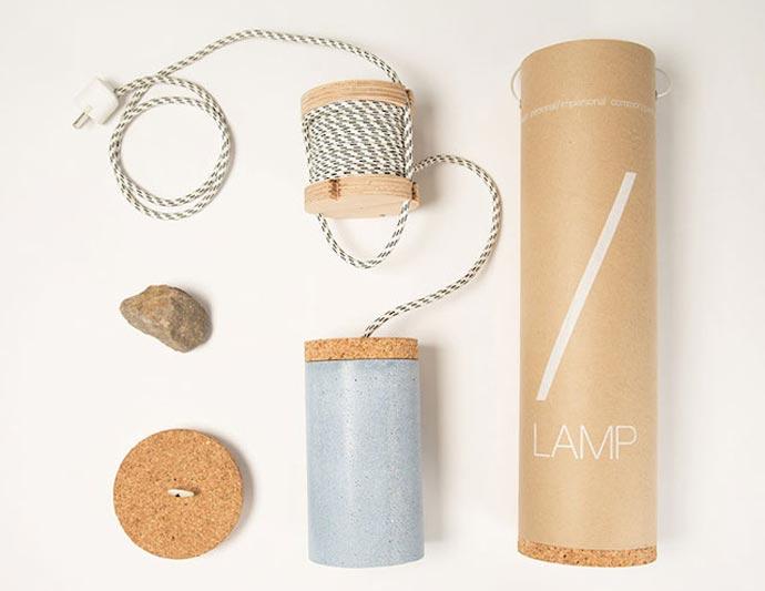 «Slash Lamp» : Разбитая лампа дизайнера Dragos Motica