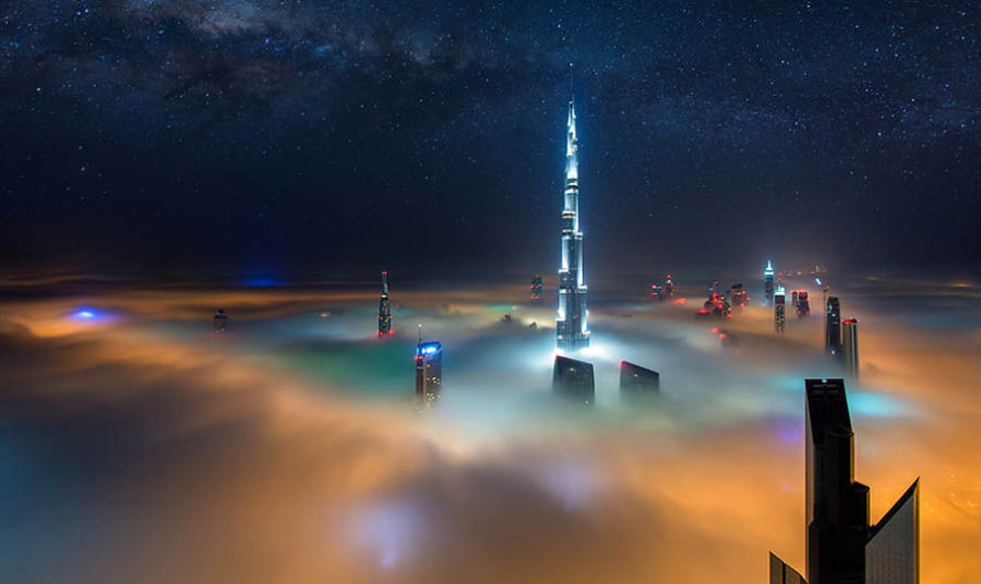 Криогеника Арабских Эмиратов на фотографиях Daniel Cheong