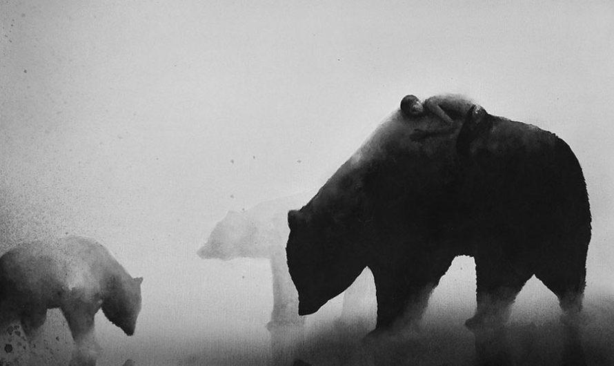 В мире животных : Графика Elicia Edijanto