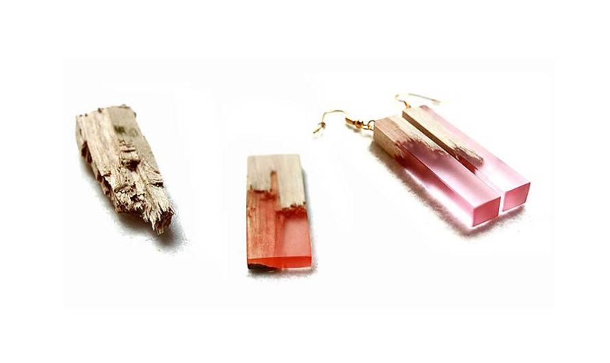 Клён и биопластик : Необычные ювелирные украшения Marcel Dunger