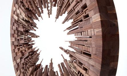 Деревянные городские ландшафты в работах Джеймса МакНабба