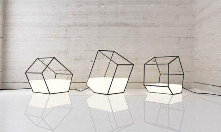 Cветильники «Living light» дизайнера Ниссы Кинялиной