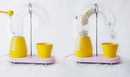 «Popcorn Monsoon» - Муссон воздушной кукурузы дизайнера Jolene Carlier