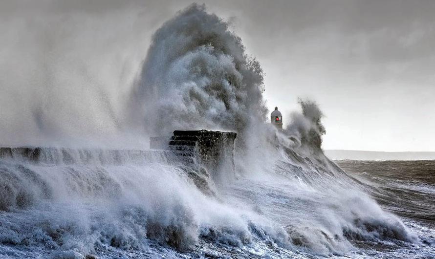 Наблюдение за штормом : Маяк Steve Garrington