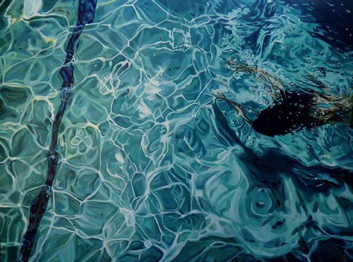 «Плывущие портреты» (Swimming Portraits) Хизер Хортон