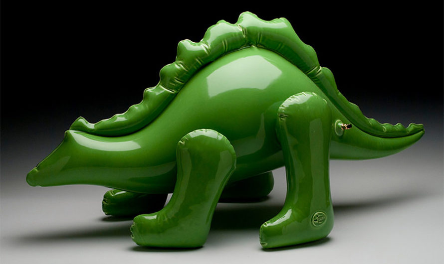 Без ниппеля : «Надувная» керамика Brett Kern