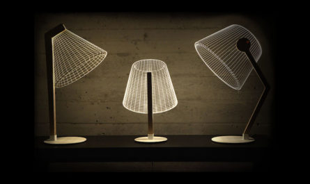 Оптические световые иллюзии – лампы Studio Cheha