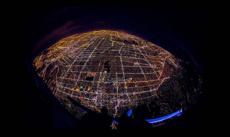 Ночи LA : фотографии с воздуха Vincent Laforet