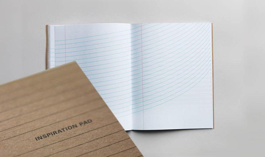 48 страниц по линейке : «Inspiration Pad»